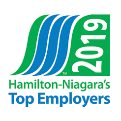 Hamilton-Niagara Top Employers Award 2019