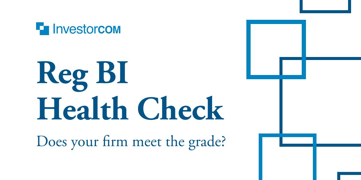 Reg BI Health Check