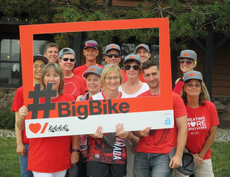 InvestorCOM Big Bike for Stroke